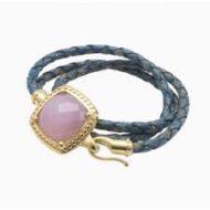 FB_Bracelet LUNA:B2 Wrap rose cordon bleu_2