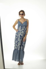 FB_Robe longue MATILDA Blue_White