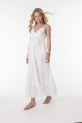 FB_Robe longue MELODY White