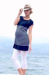 FB_Haut VIOLETA Nautical Stripe