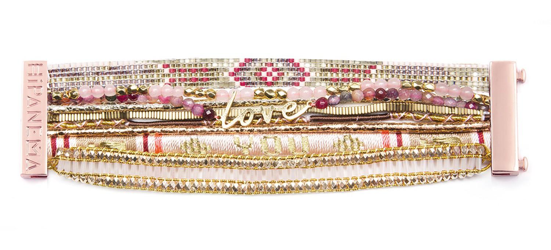 bracelet hipanema rose gold. Black Bedroom Furniture Sets. Home Design Ideas