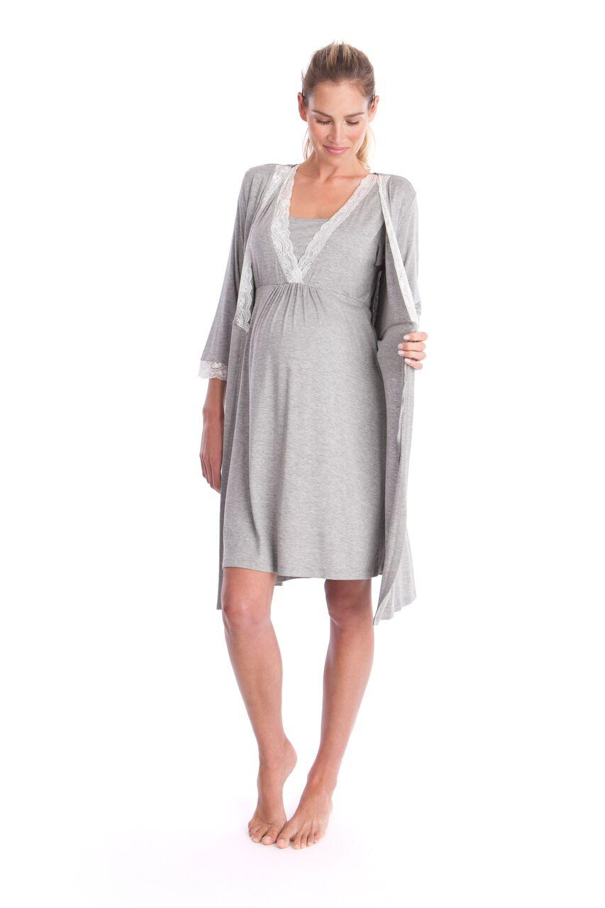 chemise de nuit meadow permettant l 39 allaitement f minin plurielles. Black Bedroom Furniture Sets. Home Design Ideas